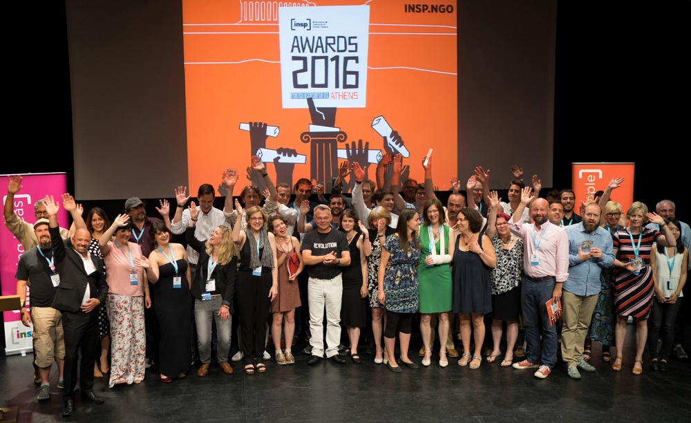 INSP Award winners and finalists Photo: Panos Zoulakis thebigpicture.gr