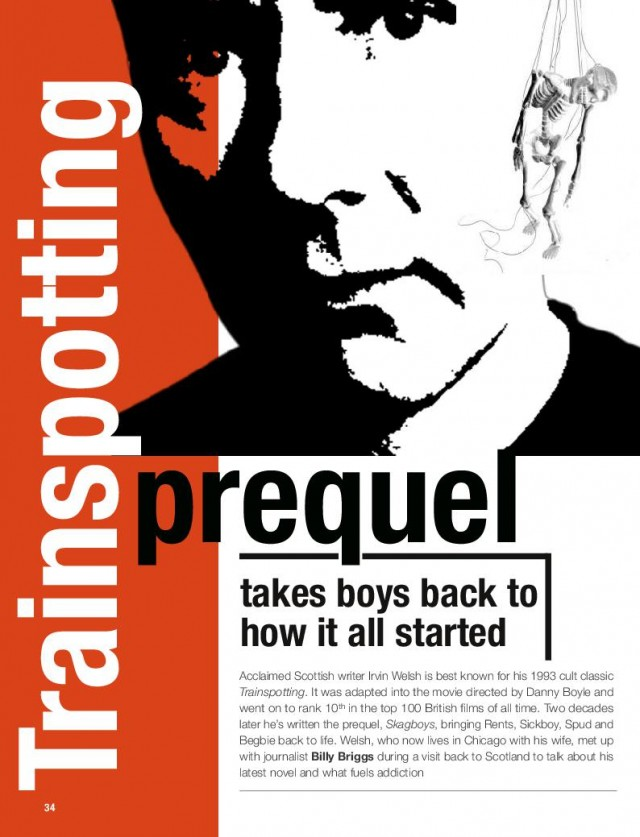 <br>INSP's Irvine Welsh exclusive in The Big Issue South Africa