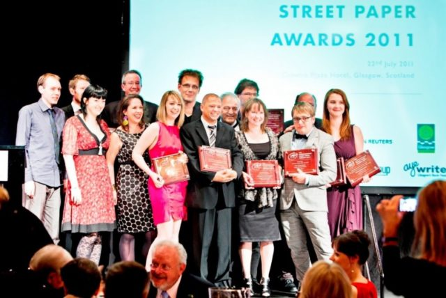 2011: Winners at the third INSP Awards, held in Glasgow, UK. Photo by Dimitri Koutsomytis.<br>