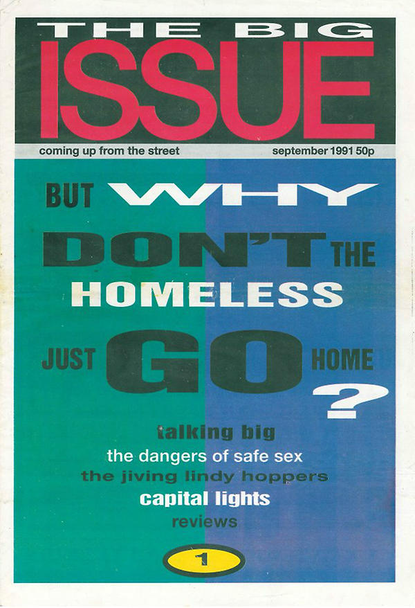 The Big Issue's first edition
