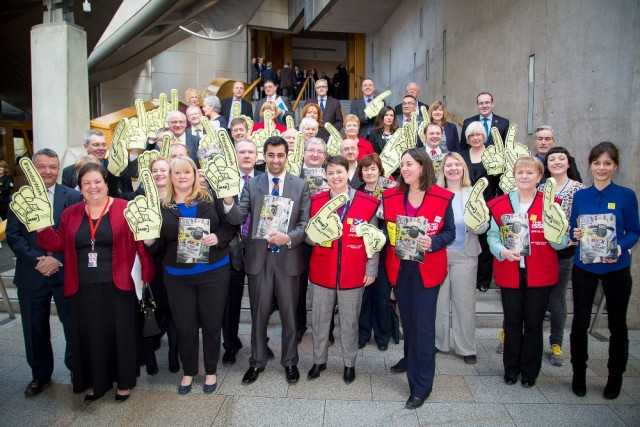 <br>The Scottish Parliament gets behind #VendorWeek