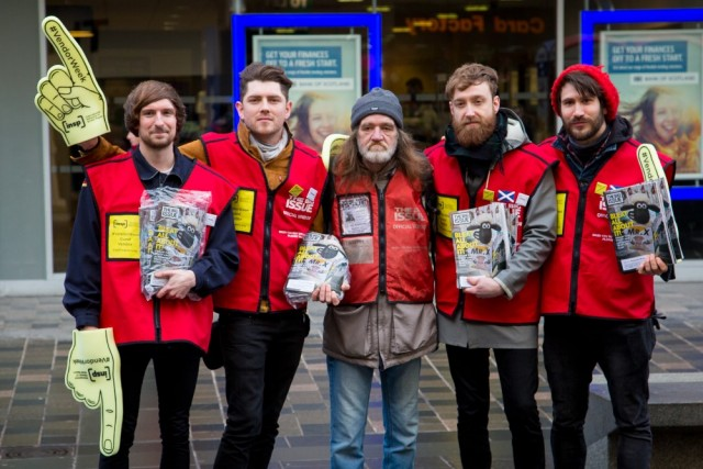 <br>Twin Atlantic sold more than 100 copies of The Big Issue in an hour for INSP #VendorWeek