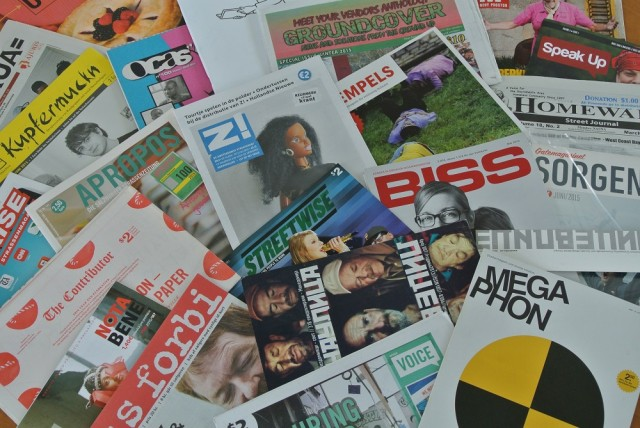 street paper covers