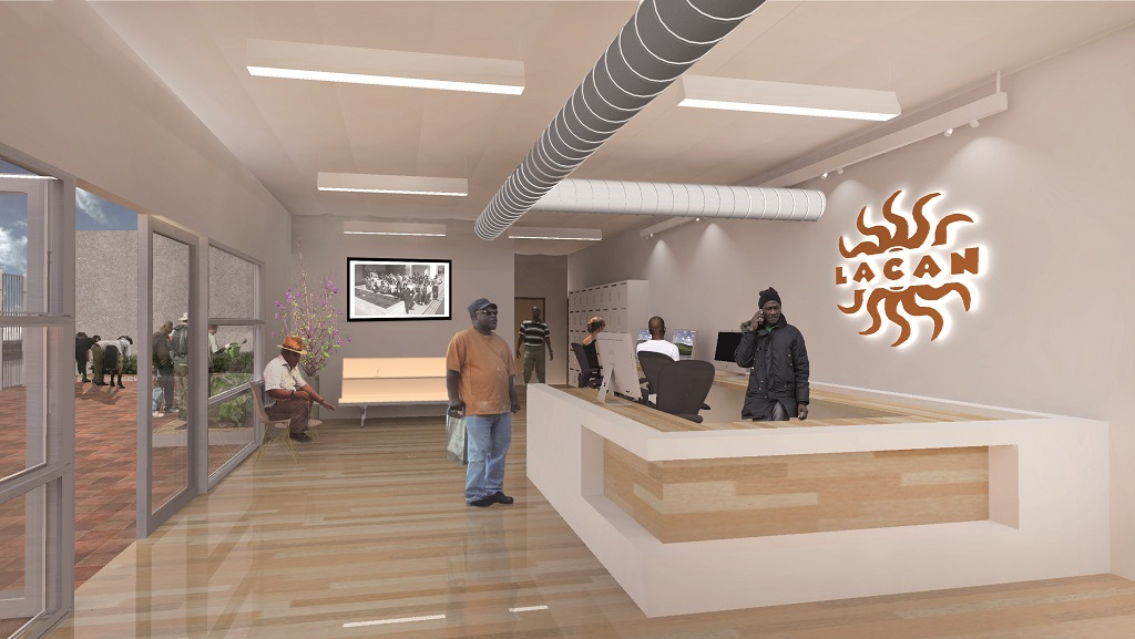How the new foyer could look