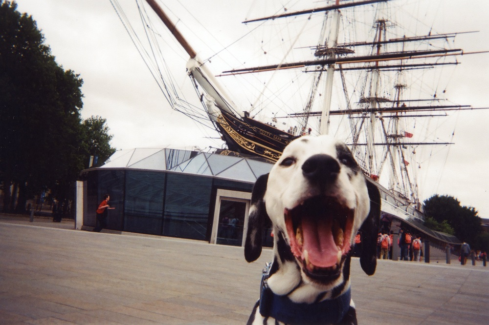 Mr Bond and the Cutty Sark, Greenwich by ROL