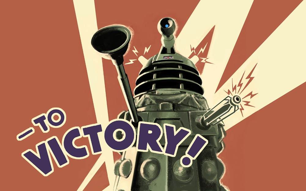 A Dalek, from Doctor Who