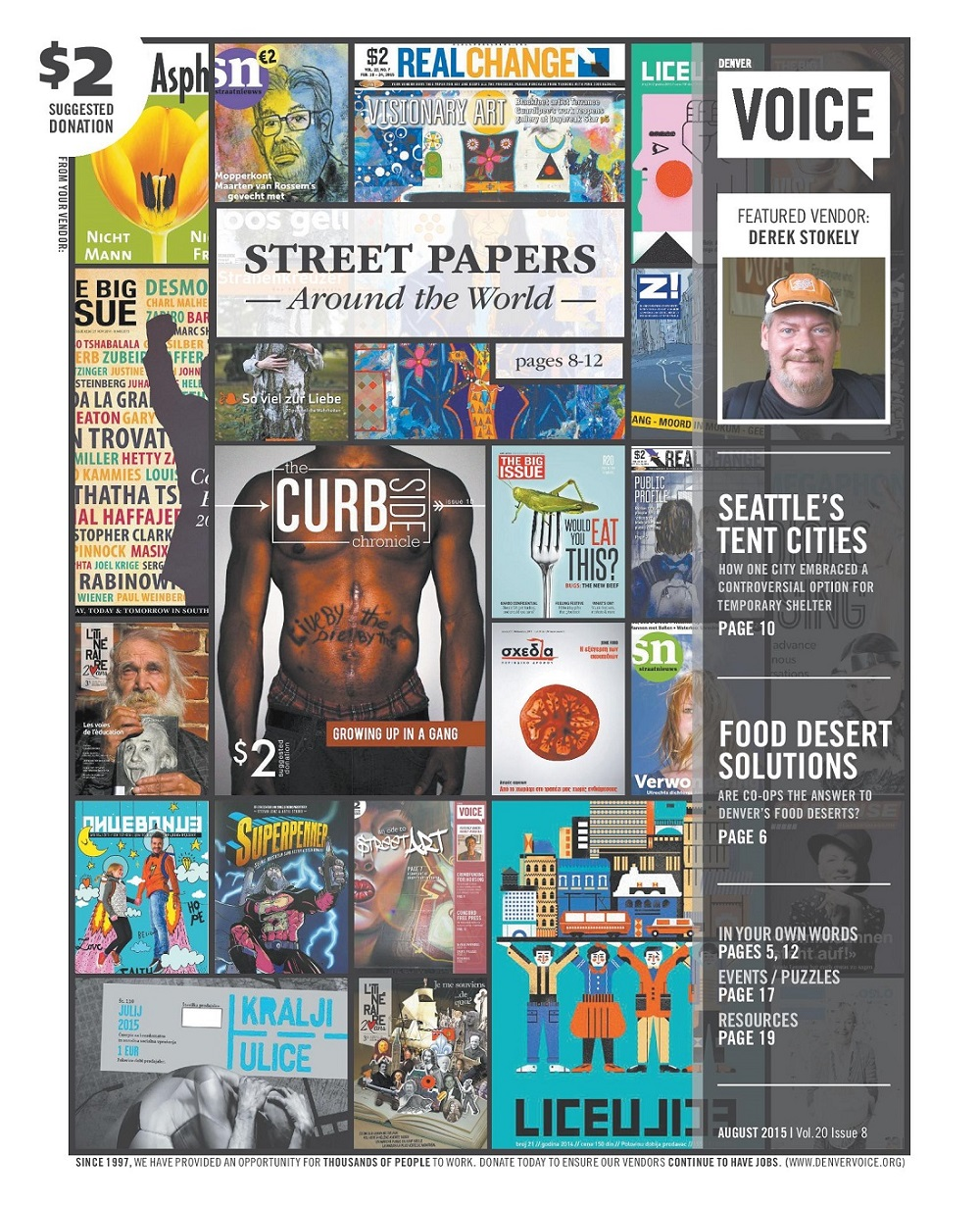 Denver Voice cover August 2015
