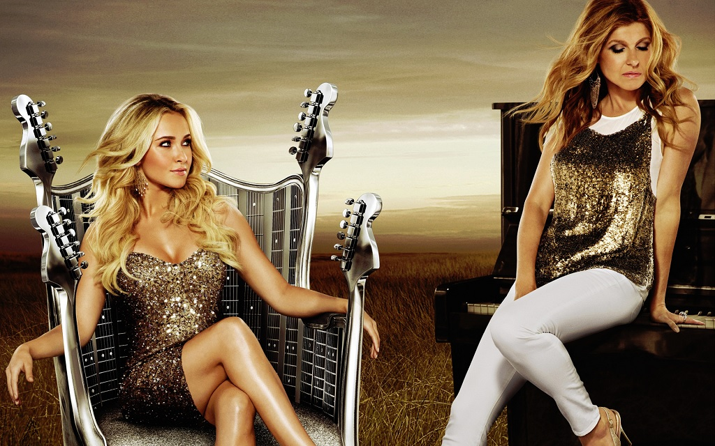 Hayden Panettiere & Connie Britton in Nashville
