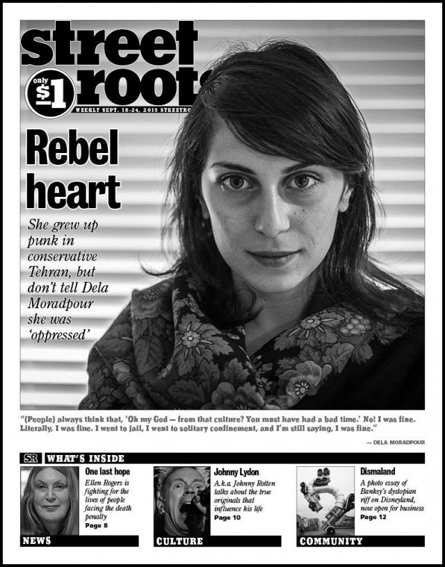 The latest Edition of Street Roots
