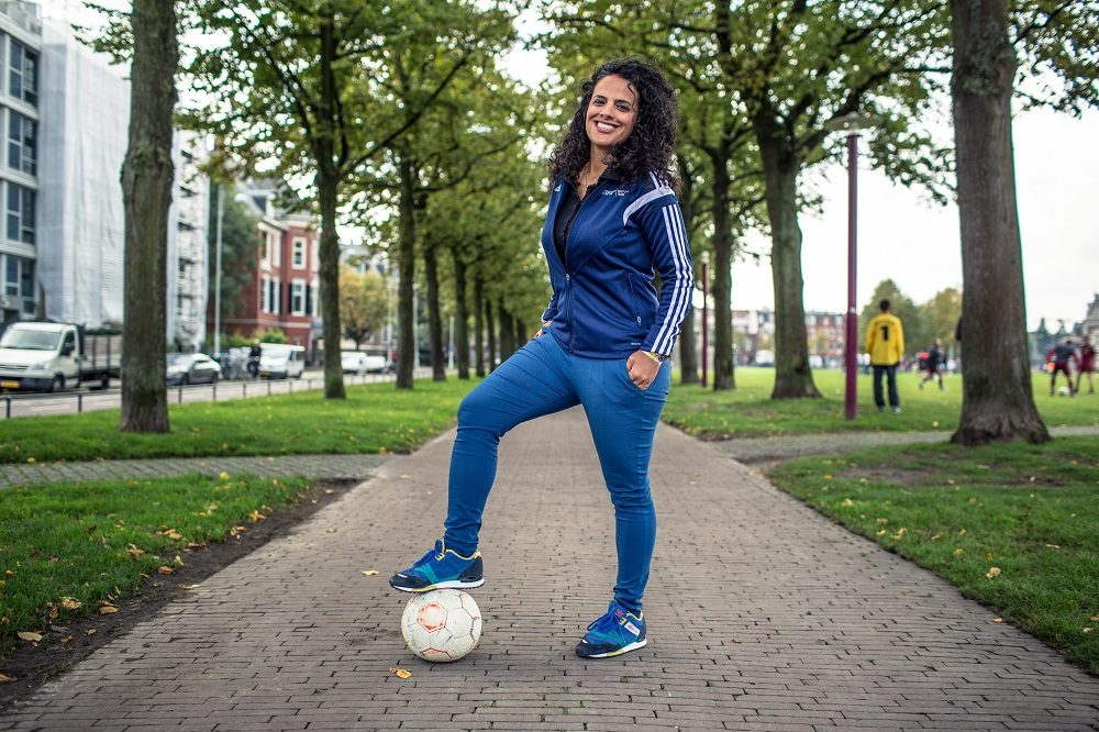 FIFA's Honey Thaljieh on fighting oppression with football in the