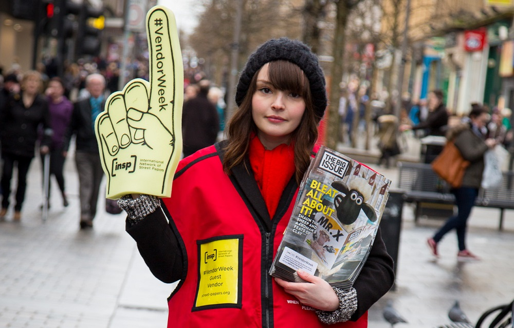 Lauren during #VendorWeek Photo: Euan Ramsay