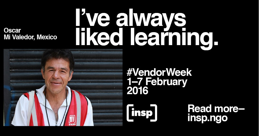 Mi Valedor's Oscar is one of the stars of 2016's #VendorWeek campaign