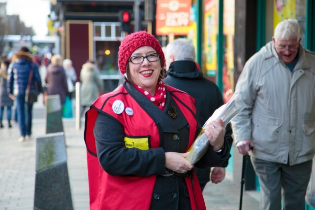 Big Issue deputy editor Vicky Carroll. Photo: Euan Ramsay<br>