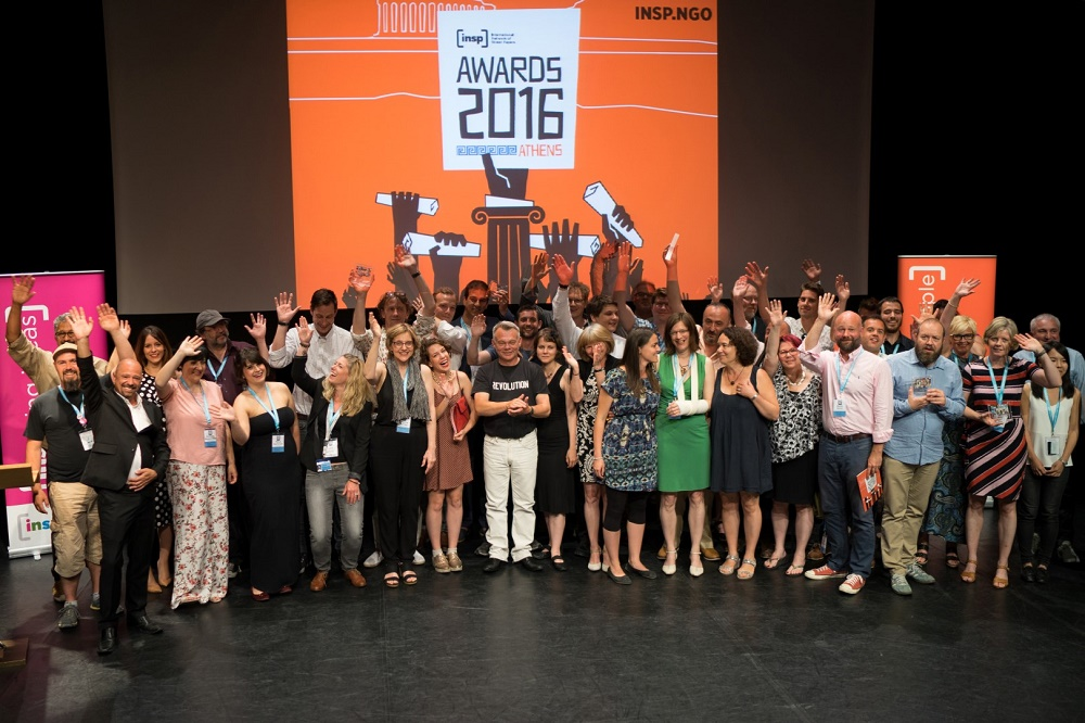 INSP Awards 2016 winners and nominees Photo: Panos Zoulakis / thebigpicture.gr