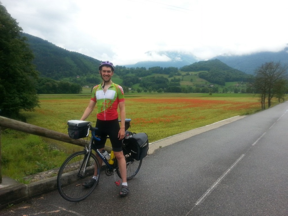 Stephen Collins on his epic cycle