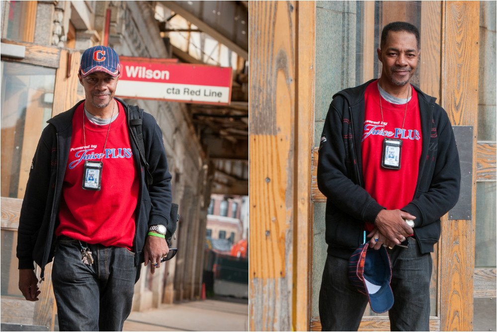 Don is a true StreetWise success story. Photos: © Kathleen Hinkel 2015