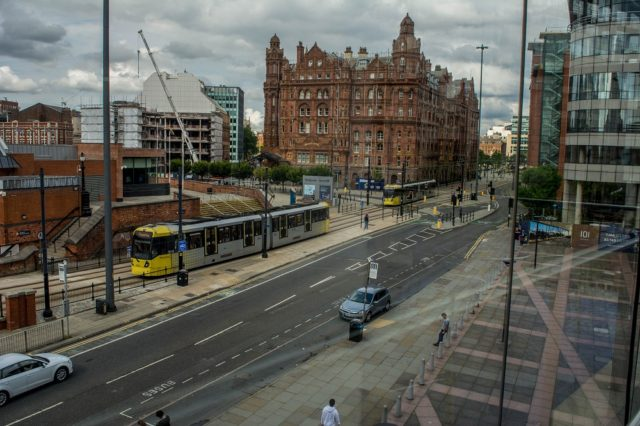 View of Manchester from The Bridgewater Hall