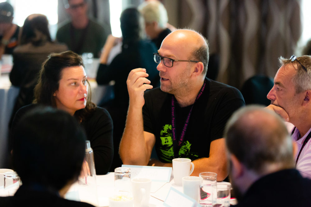 Delegates take part in summit sessions at #INSP2018. Credit: Jack Donaghy