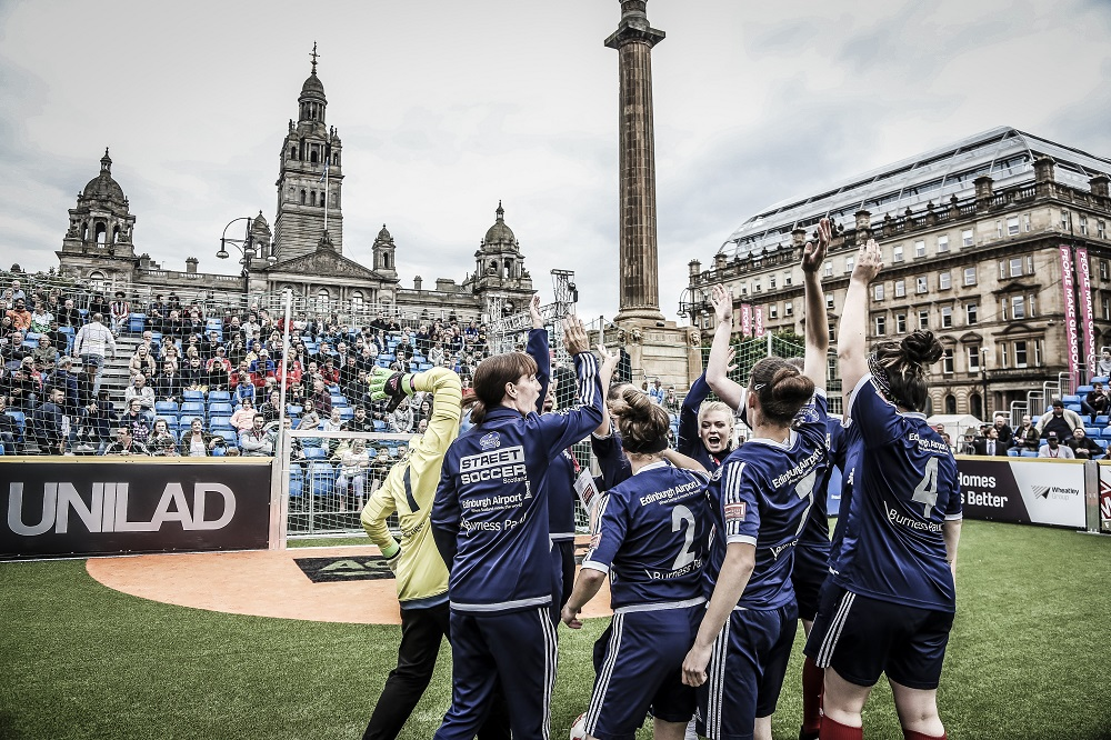 Team Scotland at the Homeless World Cup