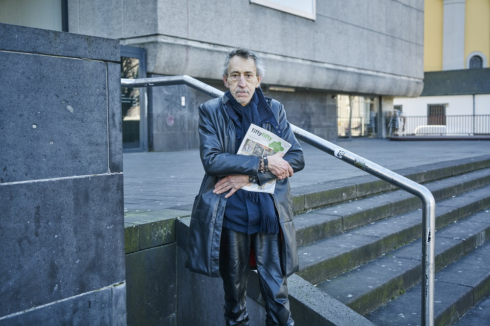 Karl Heinz on the streets. Credit: Frank Schemmann, Getty/Havas