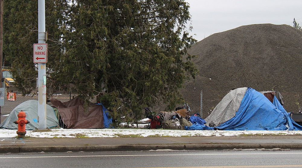 Portland homeless camp [Photo by Emily Green]