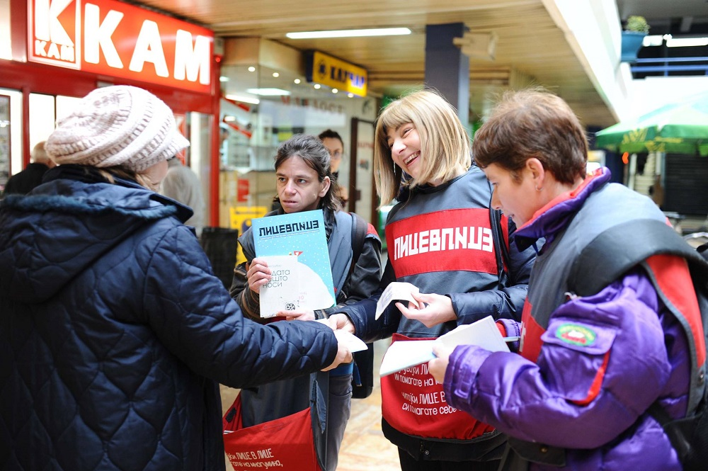 Lice v Lice vendors selling with members of the Macedonian government during #VendorWeek 2019