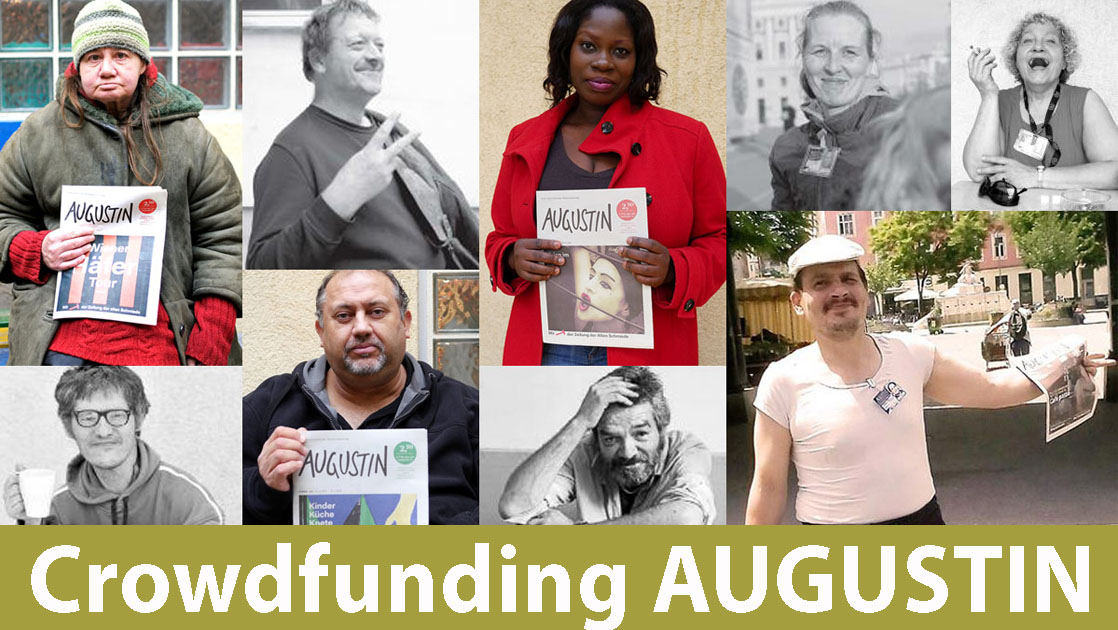 Augustin crowdfunding poster