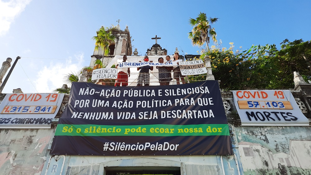 Church of the Third Order of the Holy Trinity in Salvador, Bahia. [Courtesy of Aurora da Rua]