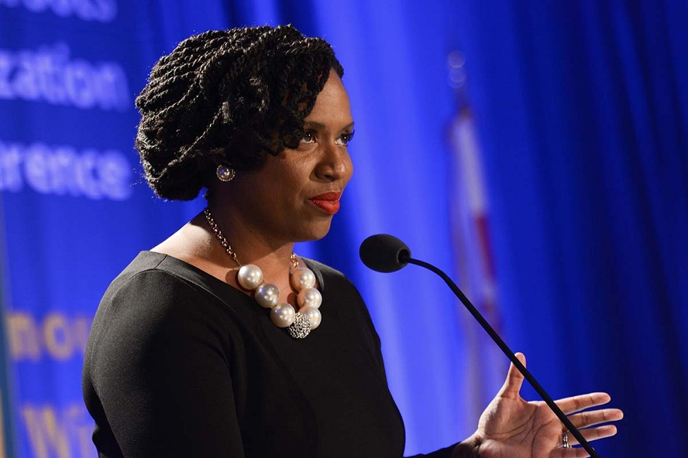 "REP. AYANNA PRESSLEY D-MASS: ""(THE CRIMINAL JUSTICE SYSTEM) IS XENOPHOBIC AND RACIST, AND JUST TINKERING AT THE EDGES WITH LEGISLATIVE REFORMS IS NOT GOING TO BE ENOUGH. WE NEED TO DO SOMETHING BOLD AND TRANSFORMATIVE."""